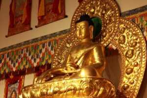 Land of Compassion Buddha Edmonton Tibetan Buddhist centre or temple - photo by our friend
